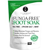 Antifungal Tea Tree Oil Foot Soak with Epsom Salts Helps to Treat Athletes Foot, Nail Fungus, Deodorises Foot Odour and Softe