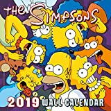 The Simpsons Official 2019 Calendar - Square Wall Calendar Format