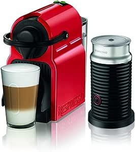 ネスプレッソ コーヒーメーカー イニッシア エアロチーノセット ルビーレッド C40RE-A3B