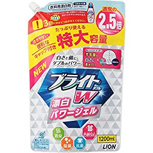 ブライトW 衣類用漂白剤 詰替用 特大 1200ml