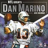 NFL Greats Dan Marino 2018 Calendar