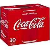 Coca Cola Classic Soft Drink Cans 375ml 30 Pack