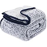 EMME Plush Super Blanket Ultra Soft Warm Microfiber Cozy Blanket for Bed Sofa in Winter Lightweight Fuzzy Thick Reversible Co