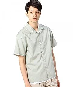 Stripe Camp Shirt 1216-149-2085: Lime