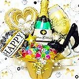 開店祝い☆発表会☆Lサイズ*キャンディ30本*大人可愛い*バルーンギフト*キャンディブーケ*シャンパンアレンジ*送料無料
