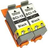 3年保証 キャノン (CANON)用 PIXUS 80i / PIXUS 50i 対応 BCI-15BLACK 互換イン…