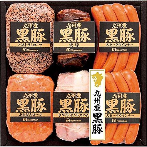 産地直送グルメ ( Nipponham / 日本ハム ) 南日本ハム 九州産黒豚6本詰ギフト ( 701-7017r )