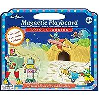 Magnetic Play board Robots Landing