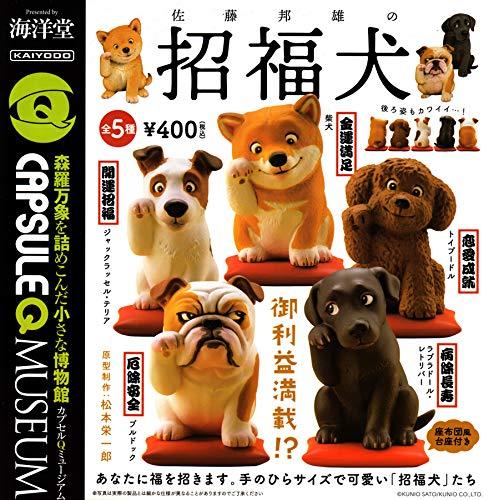 カプセルQミュージアム 佐藤邦雄の招福犬 [全5種セット(フルコンプ)]