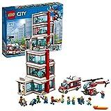 LEGO City City Hospital 60204 Building Kit (861 Piece), Multicolor