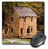 アメリカ、アーカンソー州、Northリトルロック、古いミル。–マウスパッド、8× 8インチ(MP 192182_ 1)