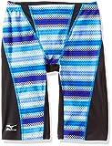 MIZUNO(ミズノ) 競泳水着 寺川綾コレクション エクサースーツ ハーフスパッツ [メンズ] N2MB7066 27)ブルー XL