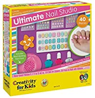 Creativity for Kids Ultimate Nail Studio Manicure Play Set 【You&Me】 [並行輸入品]