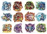 モンスターストライク ピンズコレクション BOX商品 1BOX=12個入り、全12種類