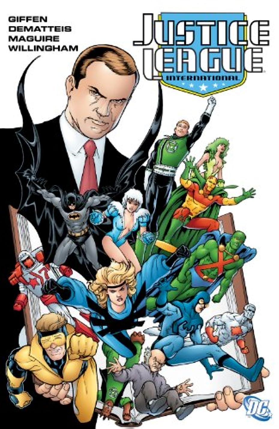 オートマトン生きる心臓Justice League International Vol. 2 (English Edition)