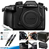 Panasonic Lumix DC-GH5 Mirrorless Micro Four Thirds Digital Camera (Body Only) - Deal-Expo Bundle