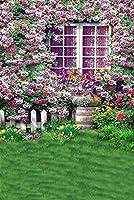 花テーマビデオスタジオ背景コンピュータ印刷写真背景写真バックドロップCP _ g-055
