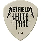 JIM DUNLOP White Fang 1.14mm Guitar Picks (PH122P1.14)