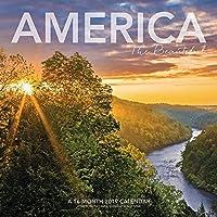 America The Beautiful Wall Calendar (2019)【洋書】 [並行輸入品]