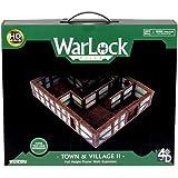 WizKids WZK16515 Warlock Tiles Miniatures - Town and Village II Full Height Plaster Walls Expansion