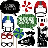 End Zone – Football写真ブース小道具キット – 20カウント