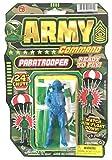 落下傘兵士 パラシュート アーミー Army Command Paratrooper パラシュート付きフィギア [並行輸入品]
