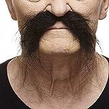 [マスタック]Mustaches Realistic Fu Manchu black moustache [並行輸入品]