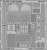 エデュアルド 1/48 I-153 チャイカ エッチングパーツセット ICM用 エッチングパーツ EDU49760
