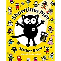 My Cat Pip: Showtime Pip! Sticker Book