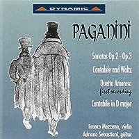 Sonatas For Violin & Guitar Op by NICOLテ PAGANINI (1994-09-19)