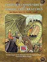 Cooper's Compendium of Corrected Creatures: Ogl Monster STATS a - D (Aboleth - Dwarf)