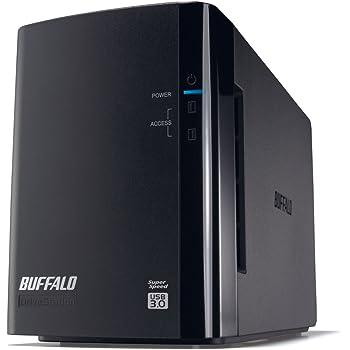 BUFFALO RAID1対応 USB3.0用 外付けハードディスク 2ドライブモデル 4TB HD-WL4TU3/R1J