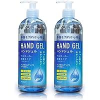 TOAMIT 東亜産業 ハンドジェル アルコール配合 洗浄タイプ 日本製 500ml 2本セット