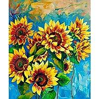 ArtzFolio Sunflowers 1 Unframed Premium Canvas Painting 20 x 24.2inch