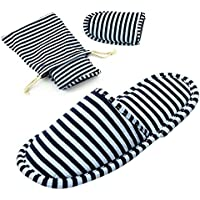 Non-Disposable Travel Slippers Portable Cotton Spa Hotel Guest Indoor Slippers