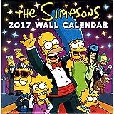 シンプソンズ 2017年 カレンダー 壁掛け TheSIMPSONS バート ホーマー グッズ 可愛い 子供部屋 キャラクター お洒落 インテリア プレゼント ギフト
