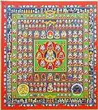 『胎蔵界曼荼羅』 アートプリント(複製画色紙)