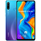 Huawei P30 Lite 128 GB 6.15 inch FHD Dewdrop Display Smartphone with MP AI Ultra-Wide Triple Camera, 4GB RAM, Android 9.0 Sim