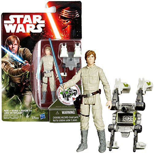Hasbro Year 2015 Star Wars The Empire Strikes Back Series 4 Inch Tall Action Figure - BESPIN LUKE SKYWALKER with Blue