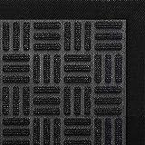 DEXI Outdoor Door Mat, 59x35 Large Durable Rubber Doormat for Indoor Outdoor, Heavy Duty, Waterproof, Low-Profile Front, Back