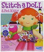 4M Stitch a Doll - Go Shopping by 4M [並行輸入品]