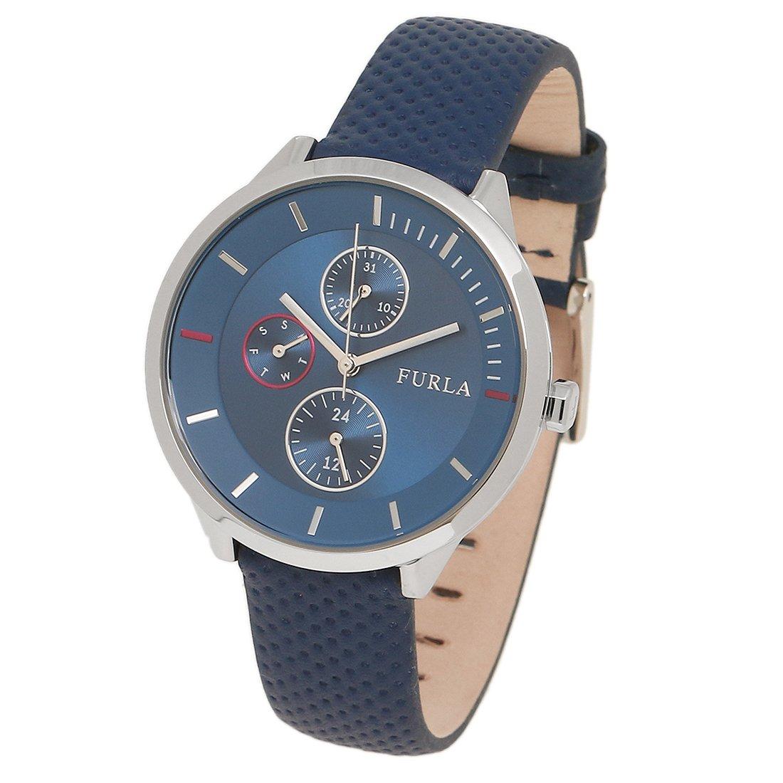 784eb12f05 [フルラ] 腕時計 レディース FURLA R4251102528 899286 W480 WU0 DOL シルバー ブルー [並行輸入