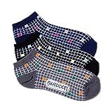 アウトドアプロダクツ (アウトドアプロダクツ)OUTDOOR PRODUCTS チェックスニーカー用ソックス・3足セット/レディース
