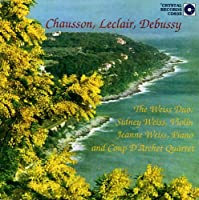 Weiss Duo: Chausson Leclair Debussy【CD】 [並行輸入品]