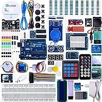 ELEGOO Arduino用UNO R3 最終版スタータキット UNOチュートリアル付 (63 Items)
