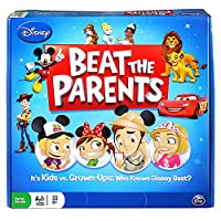 Disney Beat The Parents Board Game - Who Knows Disney Best? [並行輸入品]