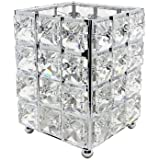 Miaowater Makeup Brush Holder Organizer Cosmetic Brushes Storage Eyeliners Eyebrow Pencil Container Crystal Bling Personalize
