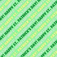 ハッピー聖パトリックの日プレミアムギフトラップ包装紙ロール
