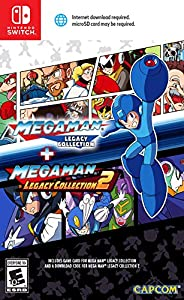 Mega Man Legacy Collection 1 + 2 (輸入版:北米) -Switch