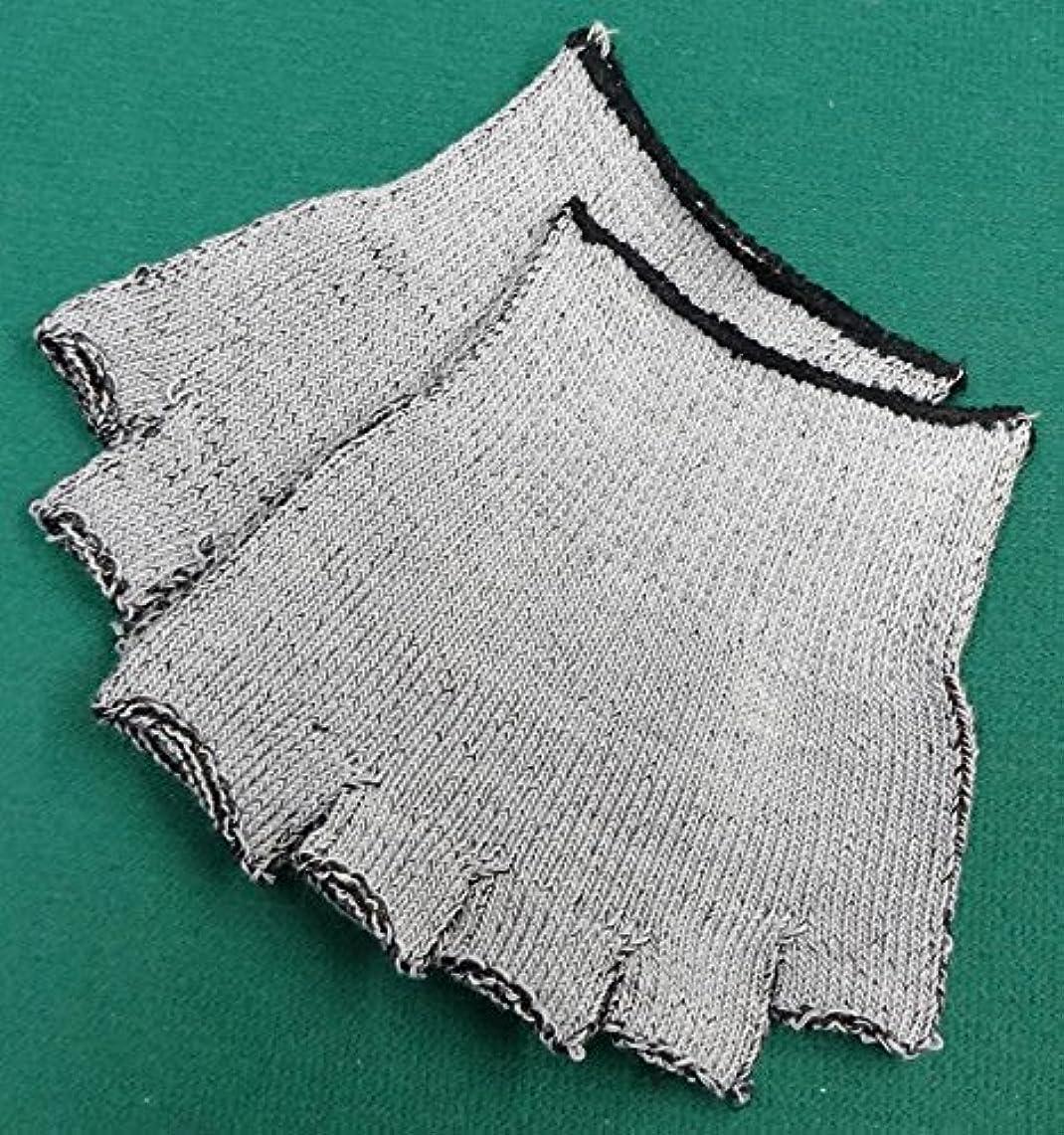 会計またね計り知れない銅繊維入りハーフソックス (6枚(3足セット))